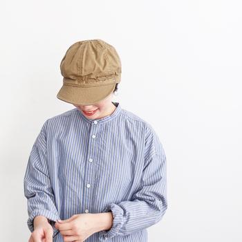 """ワーク、ミリタリー、ネイティブ、ヴィンテージ、デッドストック。味わいのある古き良きものにインスピレーションを得た帽子を製作する「DECHO(デコー)」。性差よりも""""自分らしさ""""を大切にする人にぜひお試しいただきたいブランドです。"""