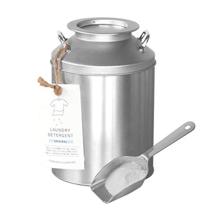 とみおかクリーニング ミルク缶洗濯洗剤 オリジナル 800g