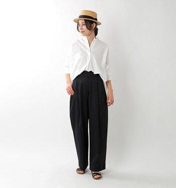 上質な素材を使用し、メンズライクで心地よい服を提案するブランド「Squady(スカディ)」。軽いバルーンシルエットが心地よく、しなやかで滑らかな肌触りが特徴です。