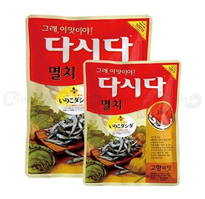 [0506] CJ イワシ ダシダ いりこだし 粉末だし 調味料 スープの素 1袋 1kg