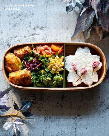 せっかくなら毎日持っていくお弁当にも春の味を詰め込んでみませんか?お昼時間が待ち遠しくなってしまいそう!ピクニックや遠足にもピッタリです。