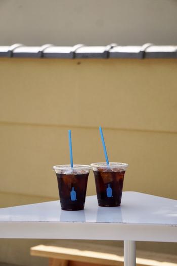 敷地内にはテラス席のご用意もあるので、町屋を外から眺めながら頂くのもおすすめ◎また、南禅寺の側なのでそのからコーヒー片手に散策するのも良いでしょう。京都ならではのブルーボトルコーヒーが味わえるスポットです♡