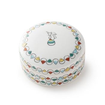 子はもちろん、周りを縁取る宝珠の中に隠されたチーズがとってもかわいい♪生まれ年の物はもちろん、十二支集めたくなるシリーズです。
