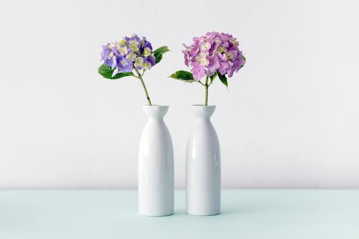 存在感のあるお花を、一輪だけ挿す、インパクトがあってオススメ!