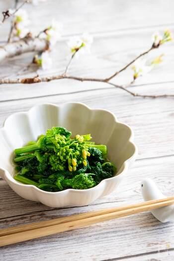 春の香りを楽しめる一品。箸休めにもなりますし、お弁当に入れてもパッと映えます。