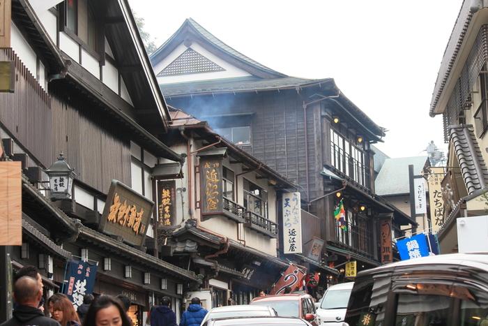 成田山といえば、鰻が有名。表参道には名店・老舗が連なり、職人さんが鰻を捌いている様子も眺めることができます。他にも蕎麦や天ぷら...たくさんの飲食店が並んでいますので、食事に困ることはありません。週末や初詣シーズンは混み合いますので、予め行きたいお店をチェックしておくと良いでしょう。