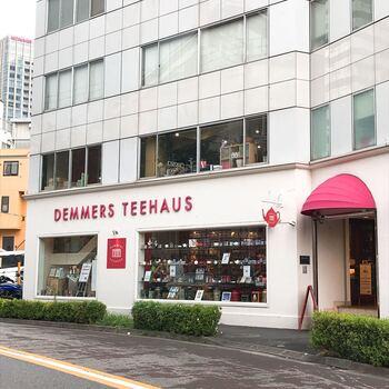 続いては、六本木国立新美術館の近くにある「デンメア ティーハウス 六本木店」です。乃木坂駅から4分ほどのところにあります。