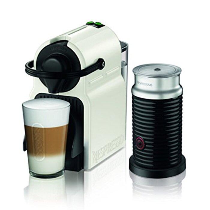ネスプレッソ コーヒーメーカー イニッシア エアロチーノセット ホワイト