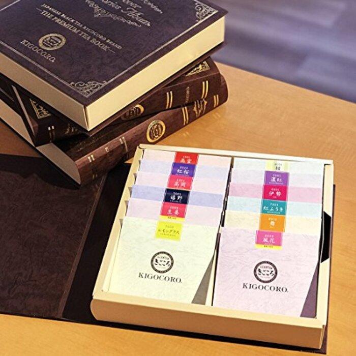 きごころ PREMIUM TEA BOOK ティーバッグ ギフト 12種入り