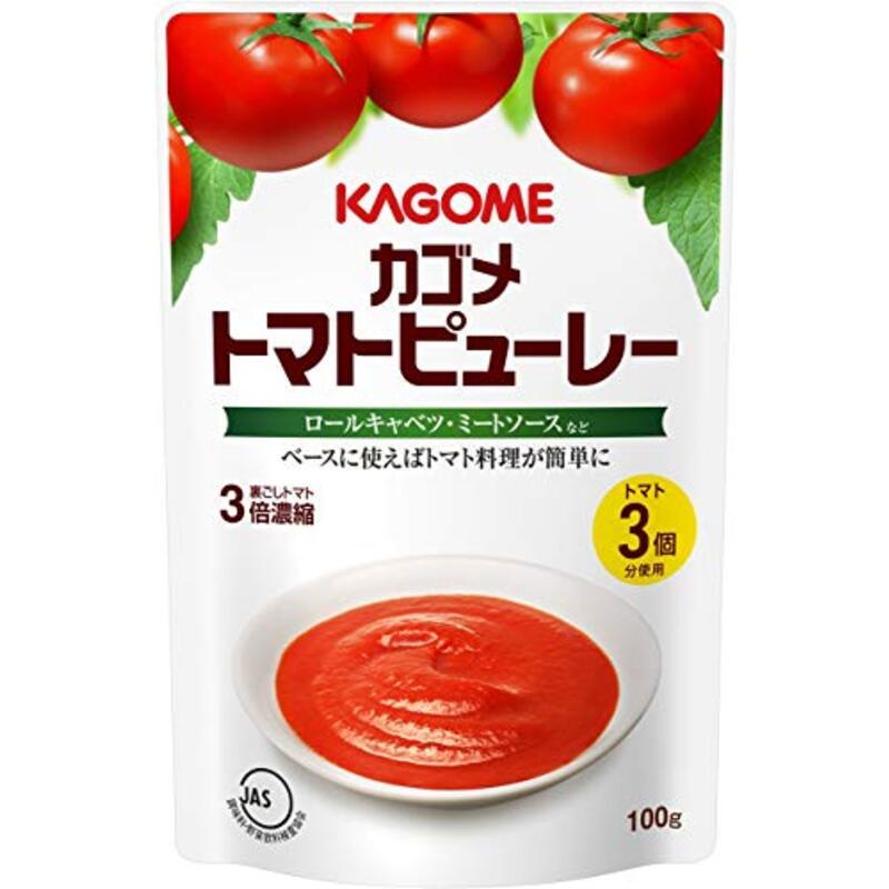 カゴメ トマトピューレー 100g×5個