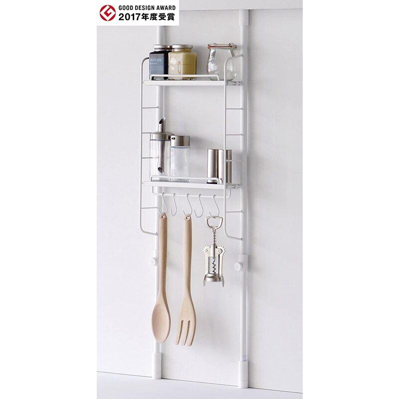 平安伸銅工業/SPLUCE 突っ張りキッチンラック  ハンガーset