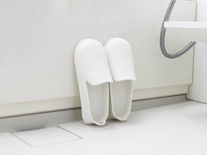お風呂のスリッパ ホワイト W608W