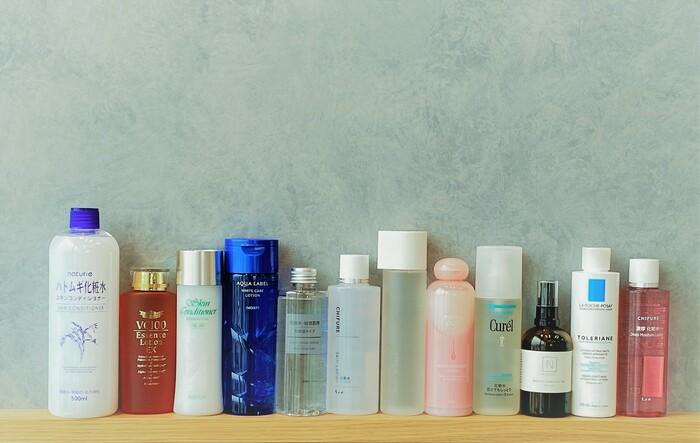 キナリノ読者の愛用『化粧水』何を使っているか、聞いてみました。