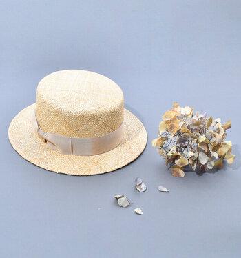 そろそろ始めたい。お洒落な「帽子」で紫外線対策