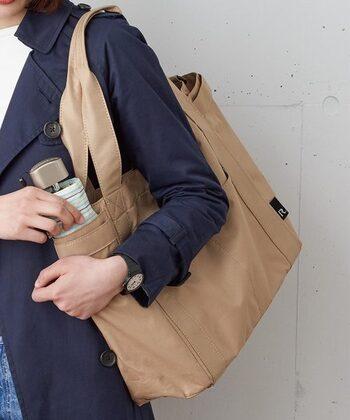 保育園バッグの定番の形として人気があるのがトートバッグです。 トートバッグ専門店のルートートにも保育園バッグに使えそうなデザインのものがいくつかあります。