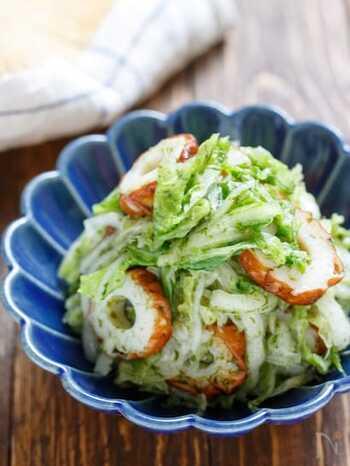 シンプルであっさりめなのり塩ナムルは、あと一品やおつまみに活躍してくれます。白菜や青のりを多めに消費したい時にもどうぞ!