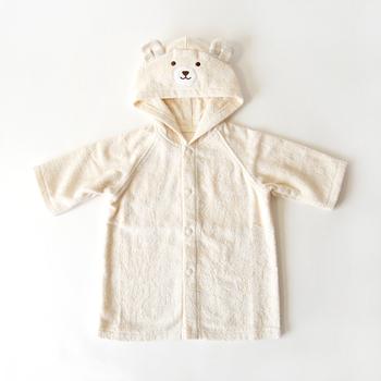 可愛いくまさんバージョンもありますよ♪2歳くらいまで着られるので、長く使ってもらえます。