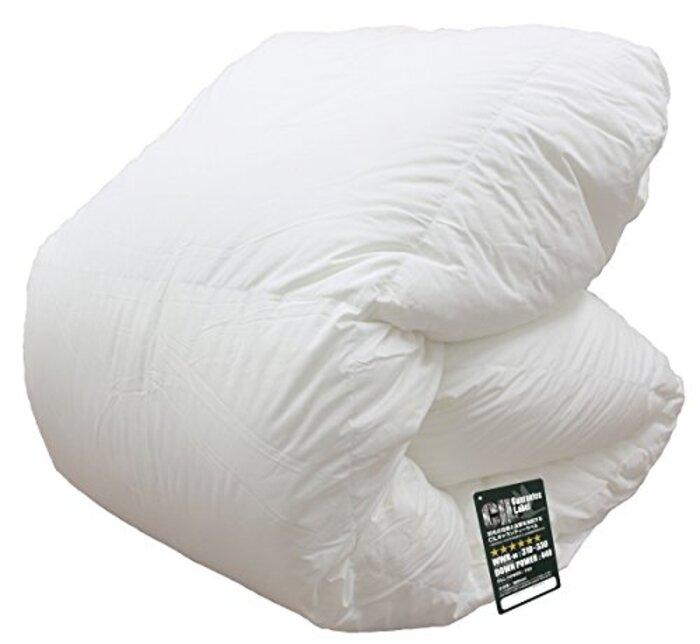 「Amazon限定」 ハンガリー産 ホワイトマザーグースダウン 95%使用 日本製羽毛布団/セミダブル