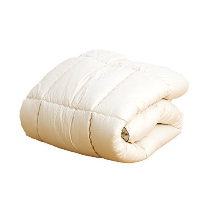 日本製『アプロディーテ 日葵(HIMARI)』羊毛混で「ふっかふか」 掛け布団 /セミダブル