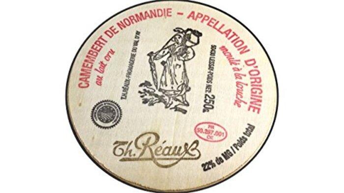 フランス産 白カビのチーズ カマンベール・ド・ノルマンディーAOP250g