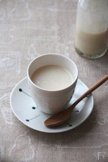 やさしい甘さで料理にも使える!甘酒・甘麹の作り方と活用レシピ♪