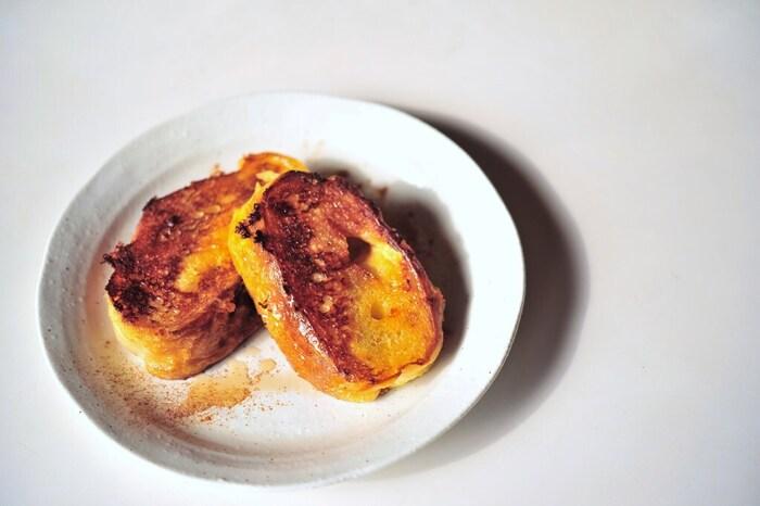 で フランス フレンチトースト パン フレンチトースト(フランスパン)