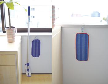 クロスのみでも販売しているので、複数枚用意しておけば洗い替え用に便利です。キッチン、リビング、トイレ用など、場所別にクロスを用意するのもおすすめです。