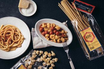 一度食べるとそのおいしさに感動すること間違いなしの本格パスタ。本場イタリアの味を家庭で楽しんでみてください♪