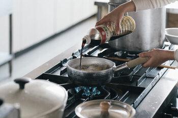 丈夫で軽く、片手で扱いやすいので毎日大活躍!調理中のお料理も美味しそうに見えます。身近な道具こそ、自分のお気に入りを揃えたいですよね*