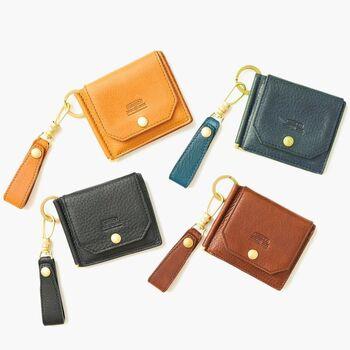 とことん機能的なお財布をお探しならこちら。マネークリップとカードケースが合体したようなアイデアあふれるお財布です。カードや電子マネー派におすすめ。
