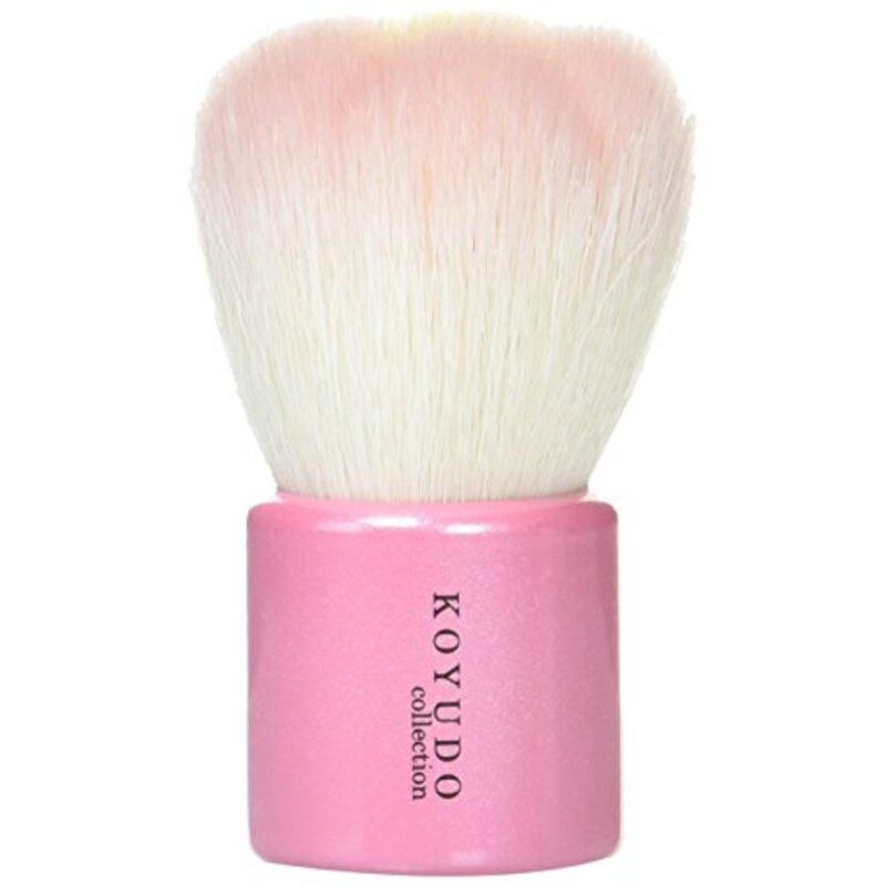 熊野筆 洗顔ブラシ (フラワー 型)