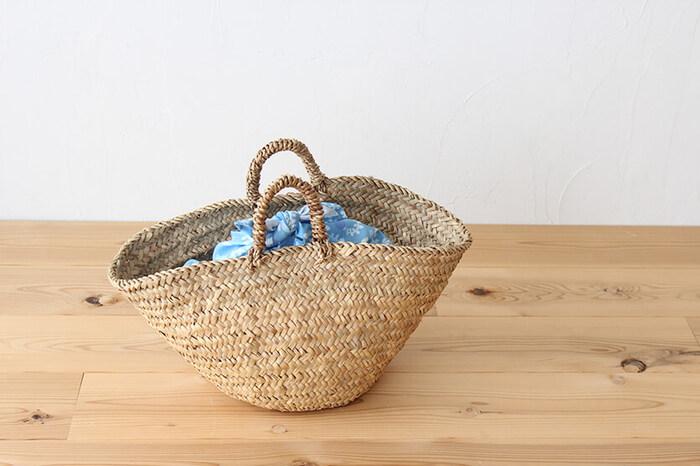 かごバッグとセットで準備したい!簡単「あずま袋」を作ってみない?