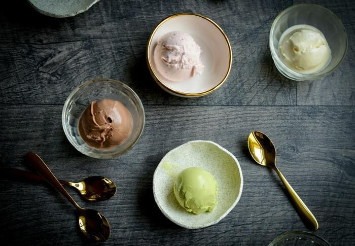 おうちで簡単♪アイスクリームの基本とアレンジレシピ