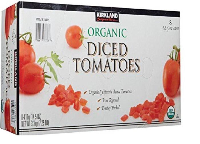 KIRKLAND シグネチャー オーガニック ダイストマト 411g×8缶