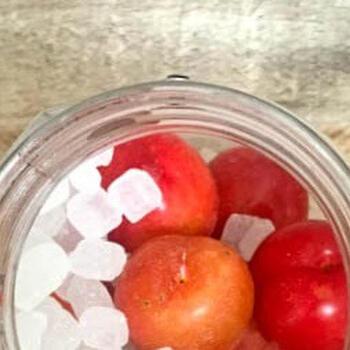 小ぶりで甘酸っぱい「すもも」果実酒の作り方&スイーツレシピ