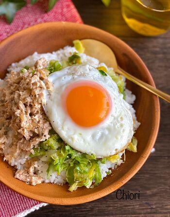 家にある材料だけで、でも調味料や組み合わせの工夫で「ちょっとだけ特別」なツナマヨ丼に。自家製ツナで作ったら「とっても特別なツナマヨ丼」になっちゃうかも!?