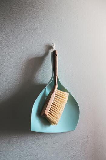 ブラシでもゴム手袋と同じ様なお掃除が可能です。ブラシの毛先はちょっと硬めのものがおすすめですが、あまり硬すぎるとカーペットを傷めてしまったり毛玉の原因になるので注意してくださいね。掃除機と同様、色々な方向からブラシを動かすのがポイントです。