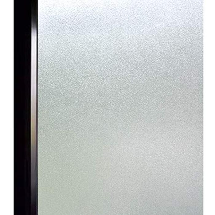DUOFIRE 窓 めかくしシート 窓用フィルム すりガラス調  淡白DS001 (44.3 x 200cm)