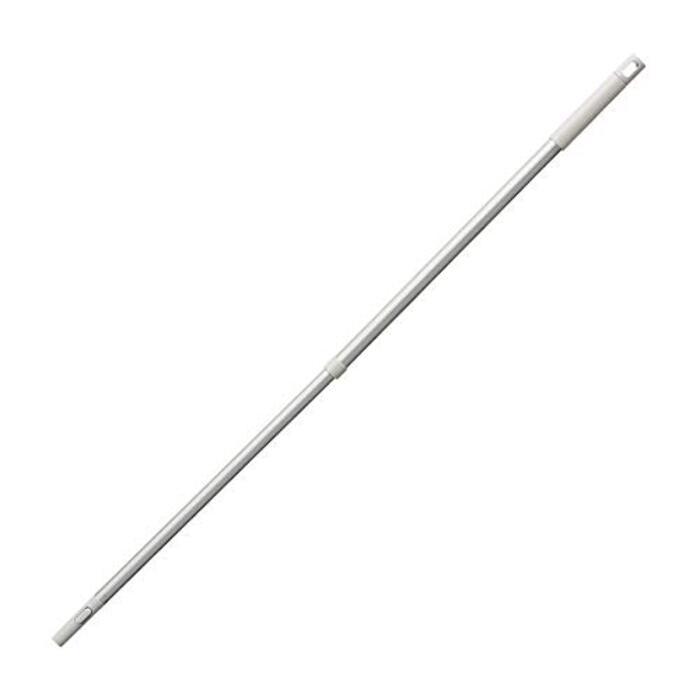 無印良品 掃除用品システム・アルミ伸縮式ポール 本体:約直径2.5×長さ68~110cm 82221084