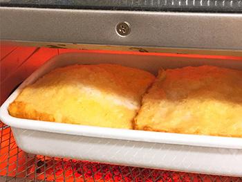 浅型のSサイズは食パンが丁度2枚入るサイズ感です。ハムの保存や一人分のラザニアやグラタンの調理にぴったりです。カットした食材の保存にも。