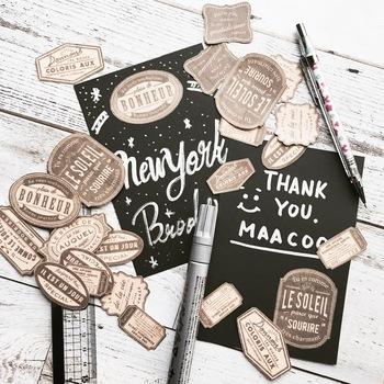 「手作りシール」の作り方*お気に入りデザインでお手紙やインテリアを素敵に飾ろう!