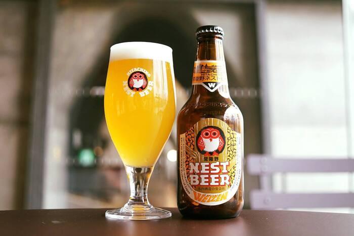 クラフトビール好きの方なら一度は耳にしたことがある「常陸野ネストビール」。1823年から続く日本酒造メーカーから誕生し、発売開始のわずか1年後に日本初の世界のビールコンテストで1位金賞を受賞したほど高く評価されています。フクロウラベルがトレードマークです。