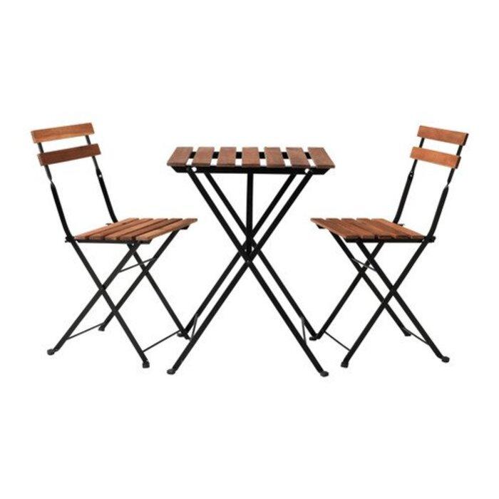 IKEA TARNO テーブル&チェア2脚