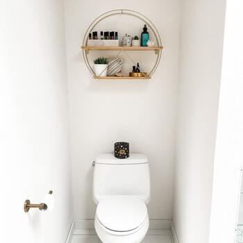お洒落で落ち着く「トイレ」のインテリア・収納アイデア