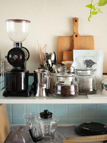 美味しさ長持ち。見た目も可愛い《珈琲豆の保存容器》コレクション