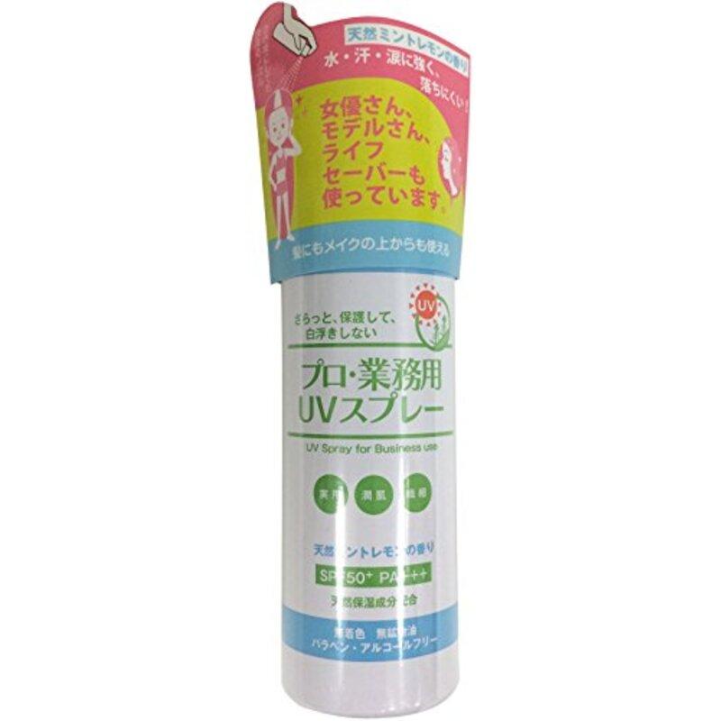 プロ業務用UVスプレー(天然ミントレモンの香り)
