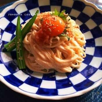 ちょっと贅沢な味に仕上げたいなら、明太子を使ったレシピを試してみて!明太子の塩気を、マヨ×牛乳でクリーミーにまとめて。10分で映える一皿が出来上がりますよ。