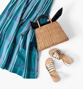 コロンと可愛い*足取り軽やかになる「ラタンのミニバッグ」を夏に向けてチェック