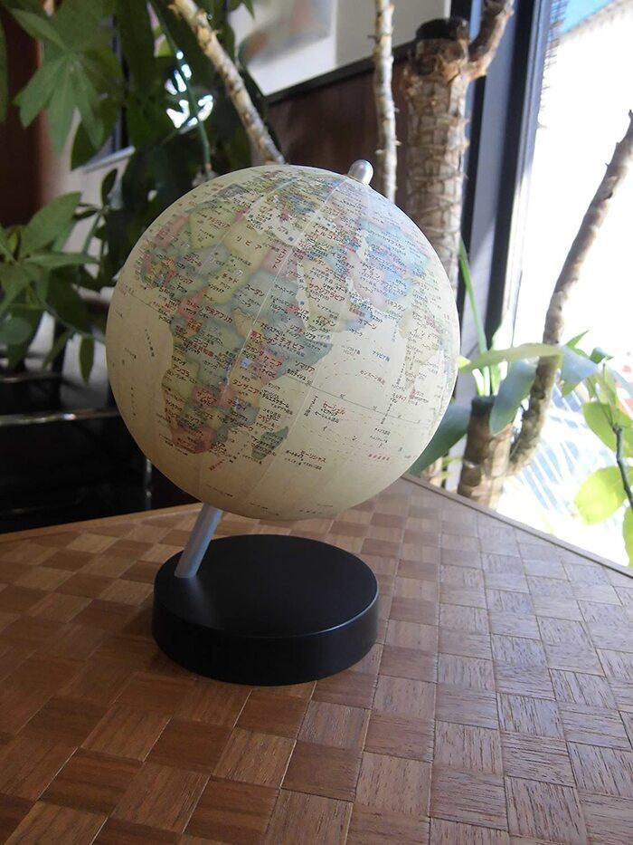 昭和カートン 卓上型地球儀 アンティークタイプ