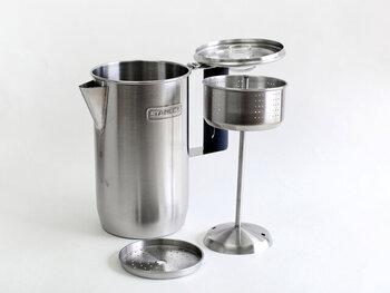 山コーヒーで活躍*直火式の【パーコレーター】仕組み&使い方